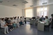 Ұжымға ҚР Президенті Қасым-Жомарт Тоқаевтың Жолдауын түсіндіру жұмысы жүргізілді